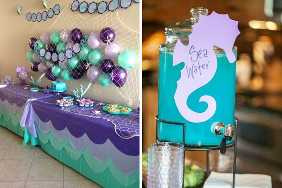 Mermaid Themed Party
