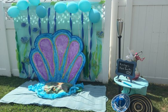Mermaid Themed Party Under The Sea Toddler Friends