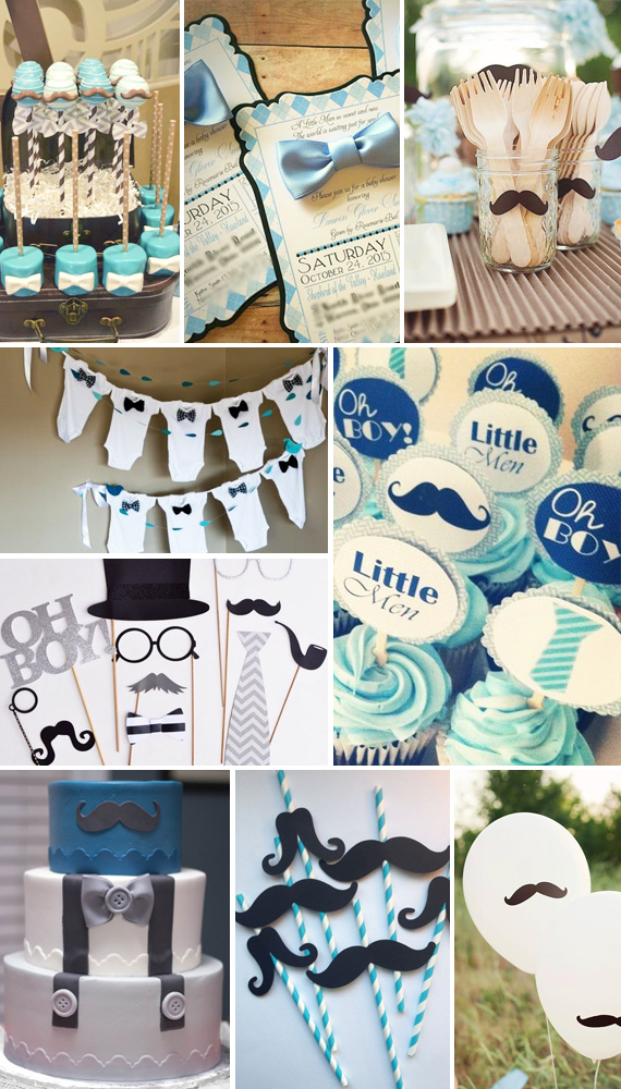 little man 39 baby shower theme toddler friends