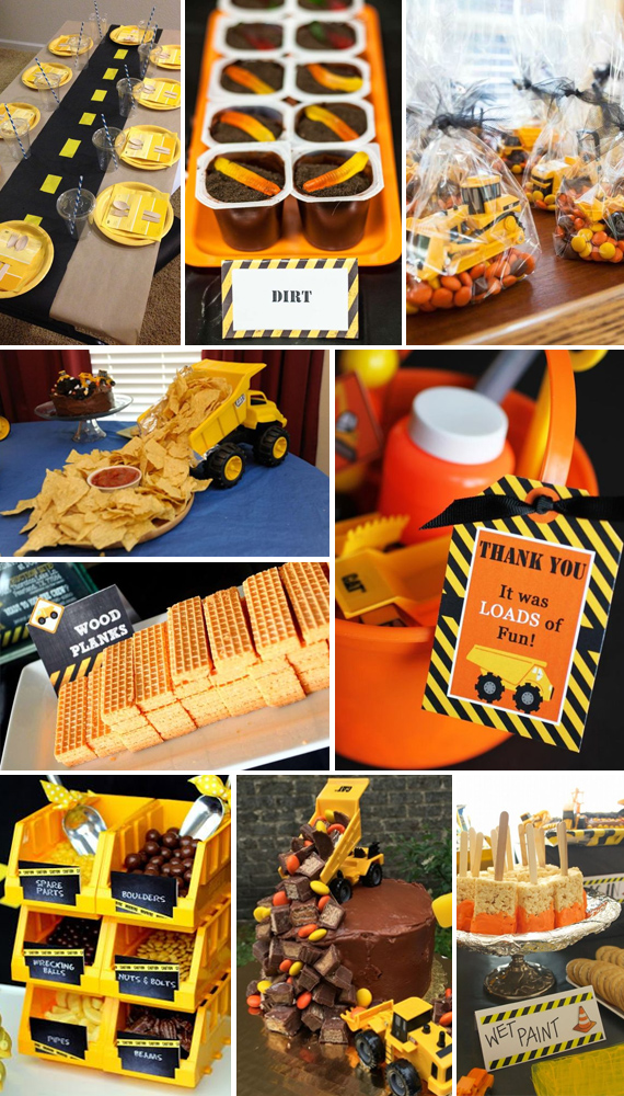 Construction Party Theme Inspiration And Ideas Toddler