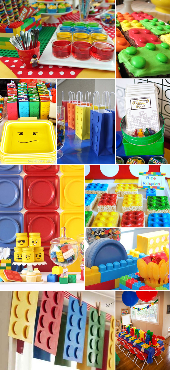 Lego Party Ideas & Inspiration