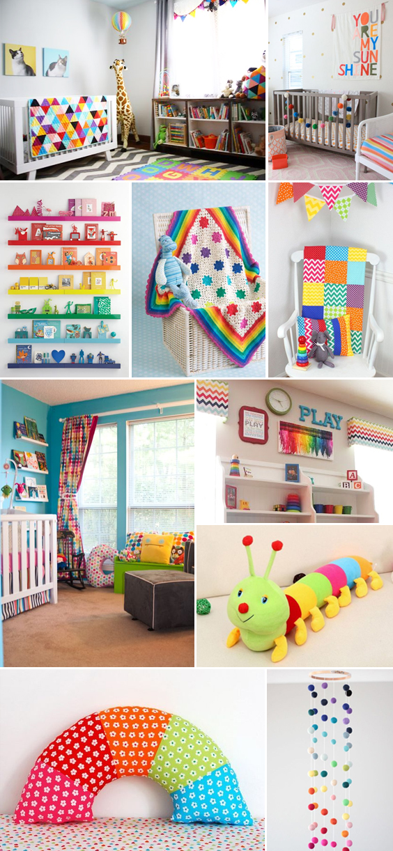 Rainbow Nursery Inspiration