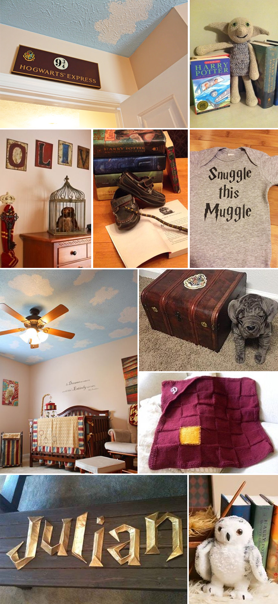 Harry Potter Themed Nursery