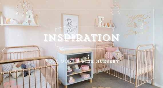 Rose Gold Amp Pink Nursery Inspiration Toddler Friends